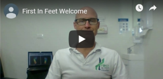 Welcome Video for First in Feet